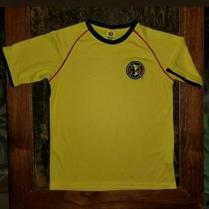 aguilas del america soccer teamShirt Jersey as YL